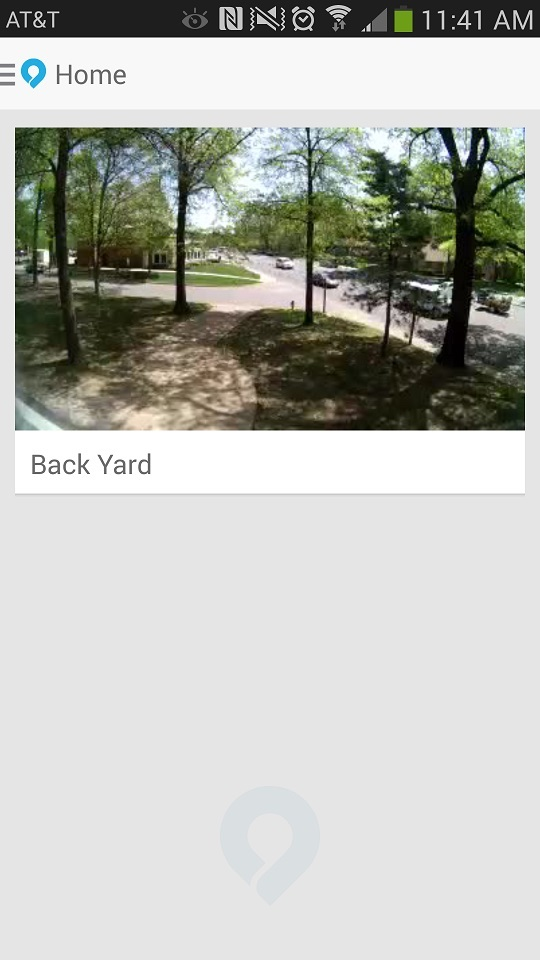Dropcam Android App Video